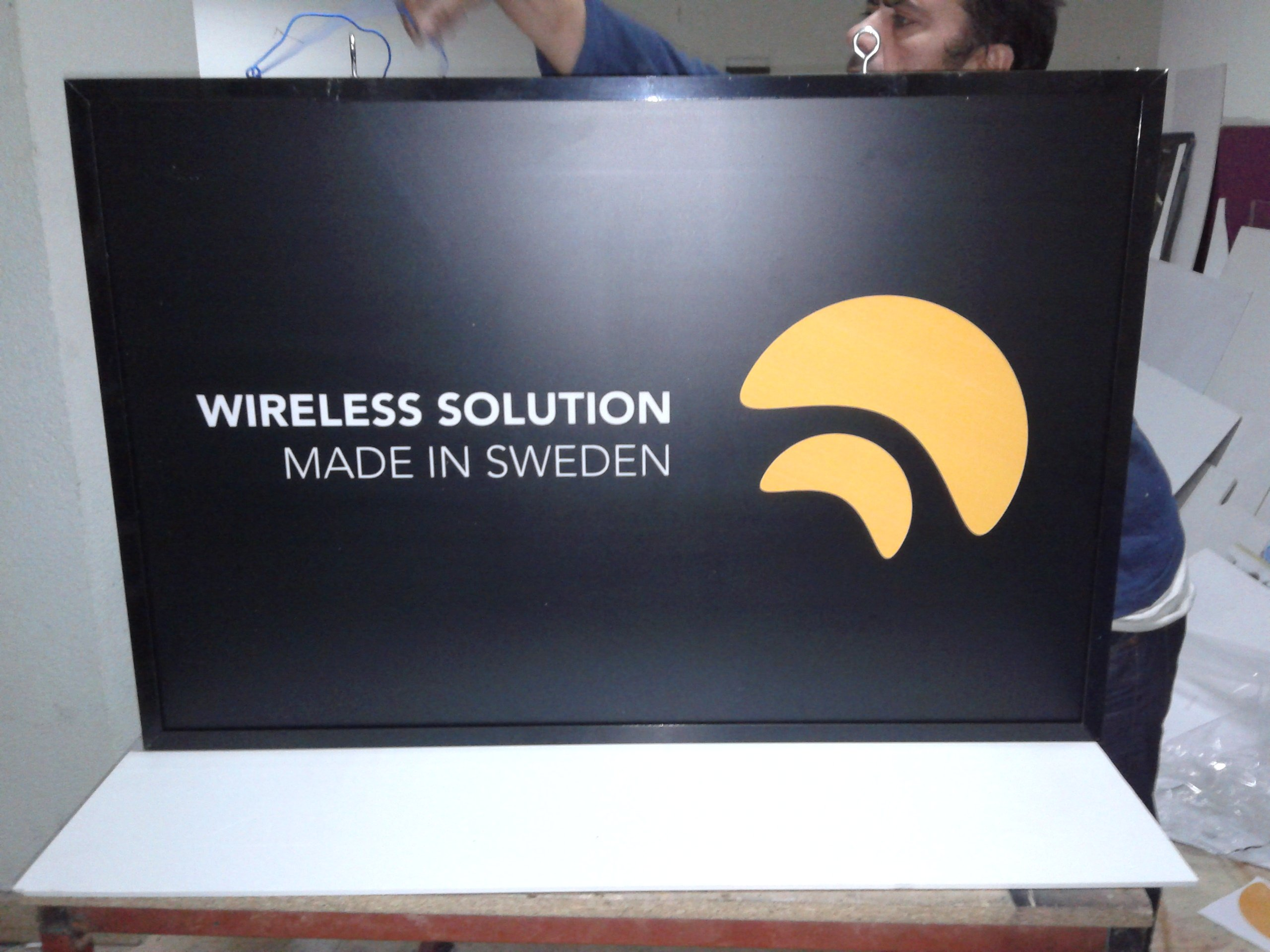 İsveç Wireless Solution Fener Tabela
